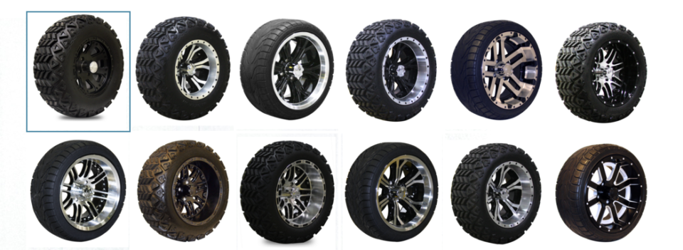 E-Z-Go Golf Cart Tire Options Tuscaloosa, AL