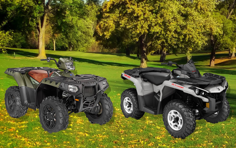 Polaris Sportsman XP 1000 vs. CAN-AM OUTLANDER DPS 1000R