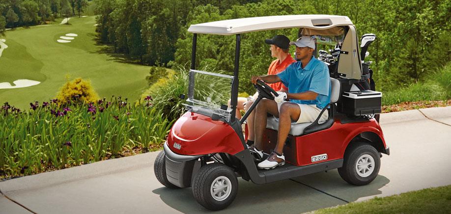 E-Z-Go-Golfing-Cart