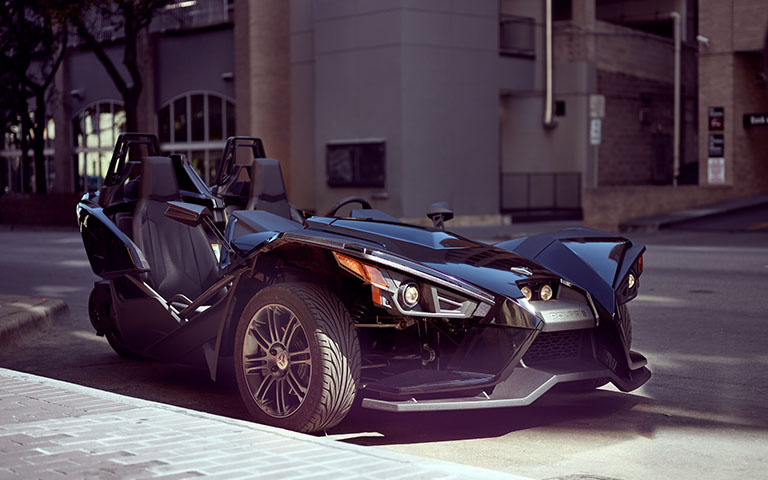 street-legal polaris slingshot